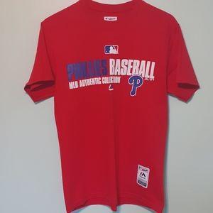 MAJESTIC MLB PHILLIES TEE SHIRT